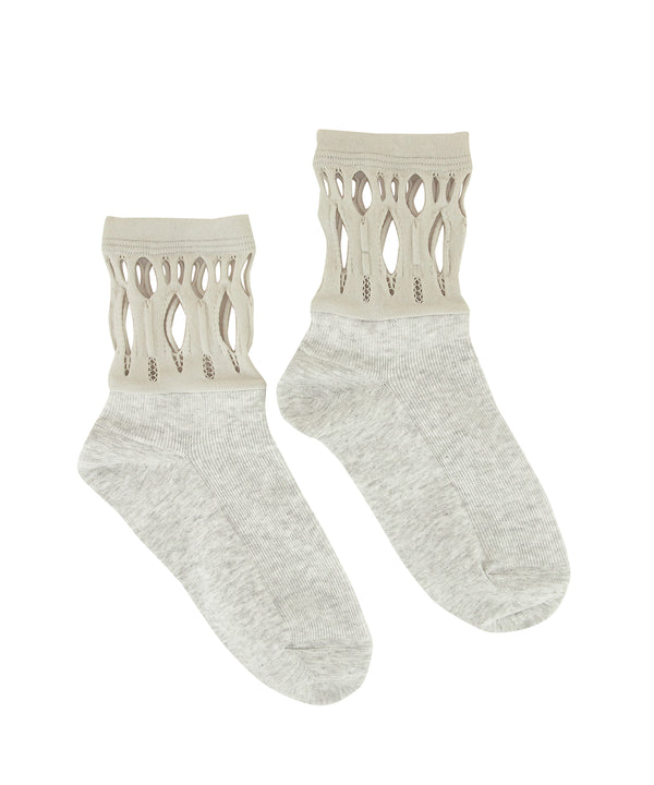 【Socks】Russell hole combination  Socks NS270R-91