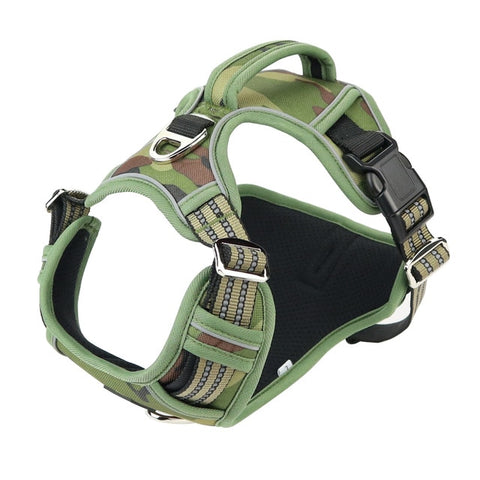 Reflective Harness with Vertical Handle