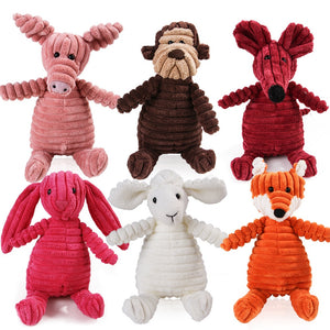 Corduroy Animal Toys