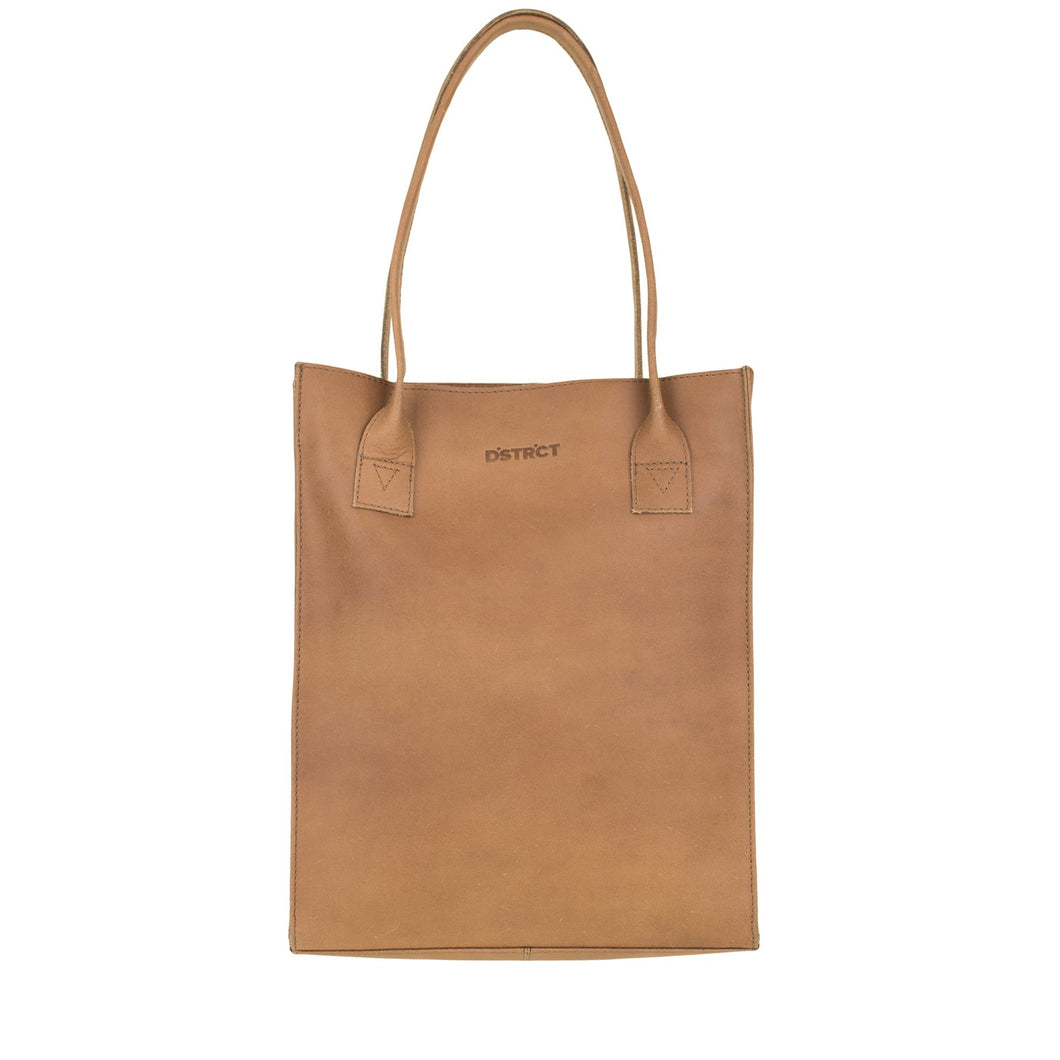 DSTRCT RIVER SIDE SHOPPER A4 COGNAC 011230.20