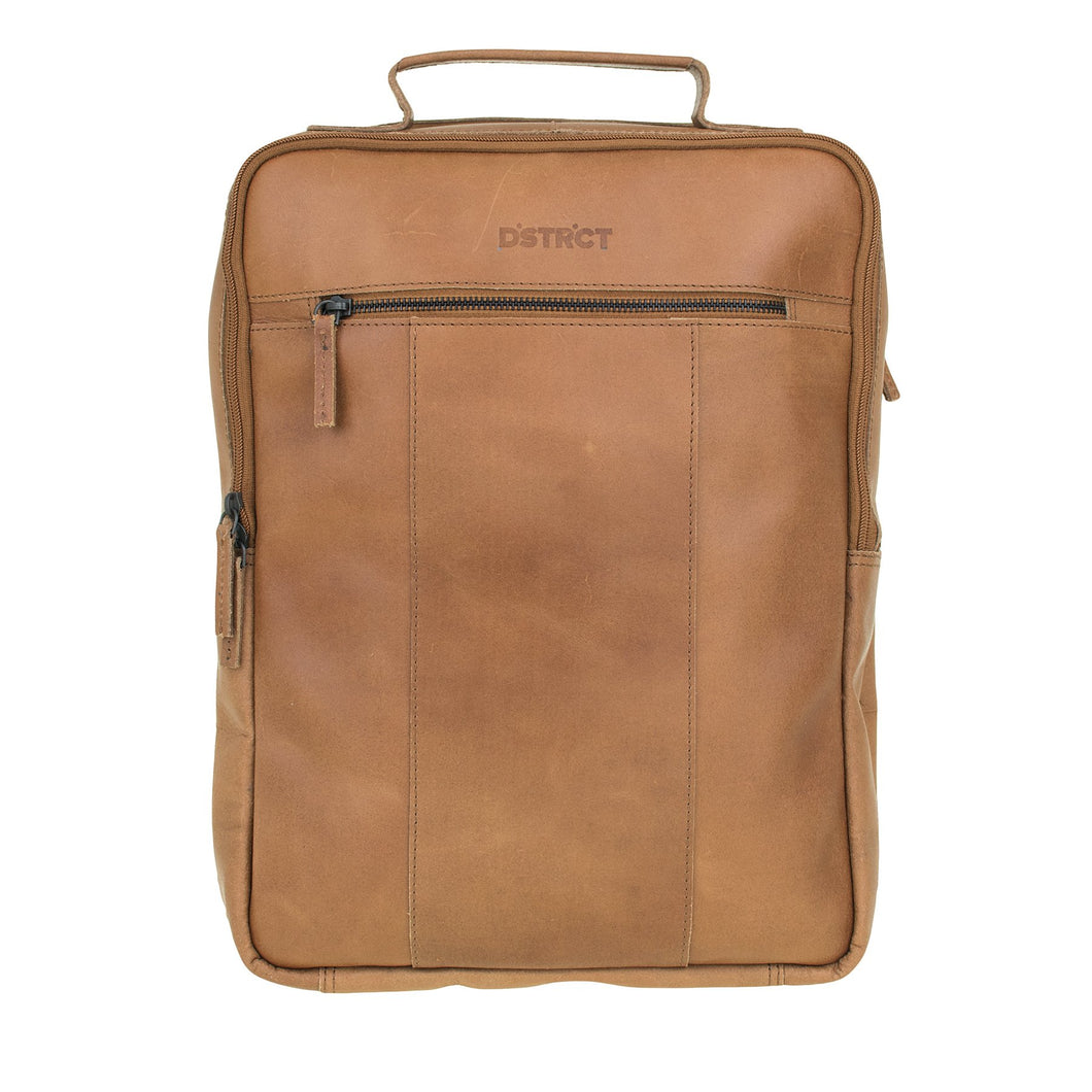 DSTRCT RIVER SIDE BACKPACK A4 COGNAC 011430.20