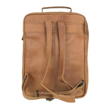 Afbeelding in Gallery-weergave laden, DSTRCT RIVER SIDE BACKPACK A4 COGNAC 011430.20