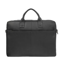 Afbeelding in Gallery-weergave laden, DSTRCT Laptoptas Fletcher Street 17 inch Black QUEBEC Zwart