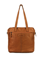 Afbeelding in Gallery-weergave laden, DSTRCT HARRINGTON ROAD SHOPPER LARGE FRONT POCKET COGNAC 354430.30
