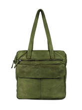 Afbeelding in Gallery-weergave laden, DSTRCT HARRINGTON ROAD SHOPPER LARGE FRONT POCKET GREEN 354430.80