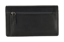 Afbeelding in Gallery-weergave laden, DSTRCT Wax lane portemonnee Ladies purse Black 382230.10