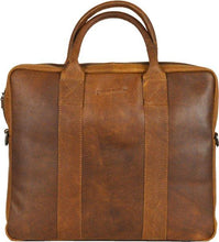 Afbeelding in Gallery-weergave laden, DSTRCT Laptoptas LIMITED 14 inch COGNAC