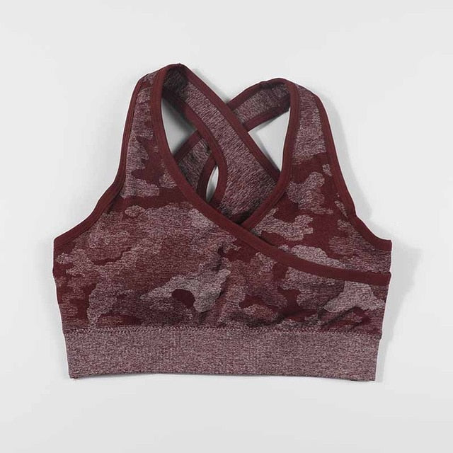 Camouflage Padded Brassiere