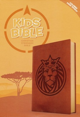 CSB Kids Bible | Leathertouch with Lion