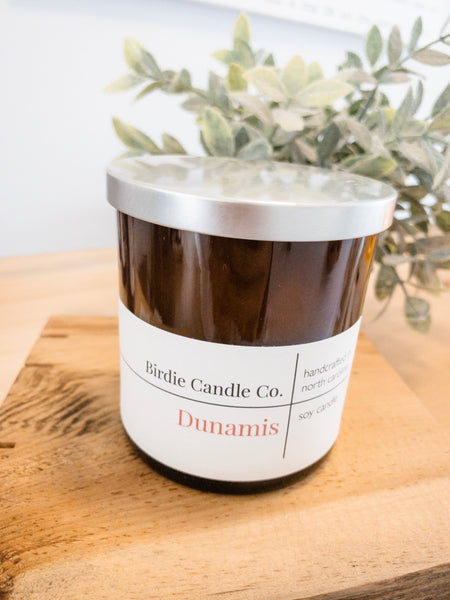 Dunamis |  9 oz Amber Glass Candle