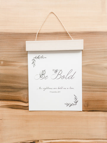 Objects of Joy | Wooden Hanging Print