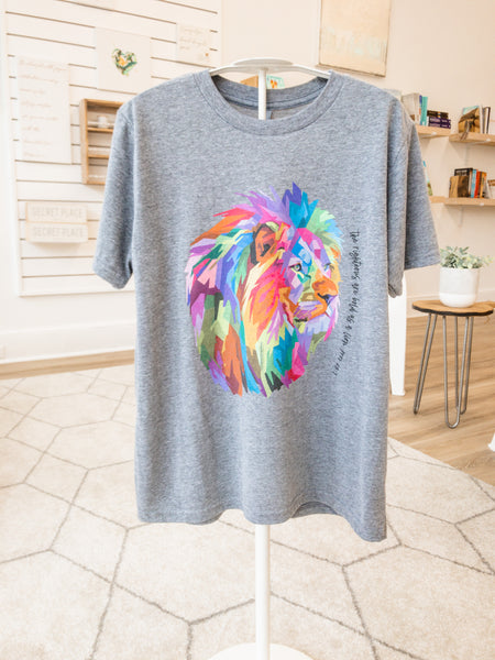 Bold as a Lion Triblend Tee