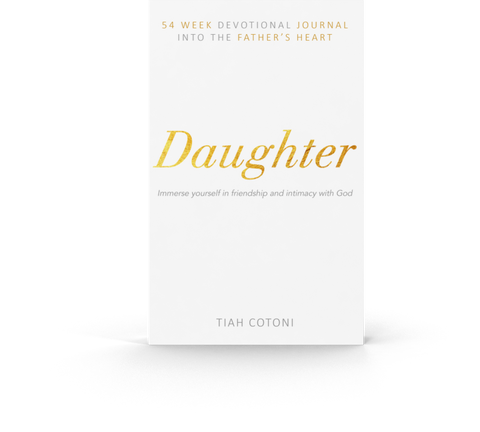 Daughter | 54 Week Devotional Journal into the Father's Heart | SIGNED COPY