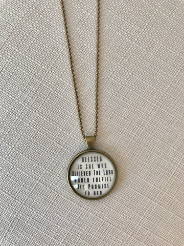 TVS Necklace | His Promises