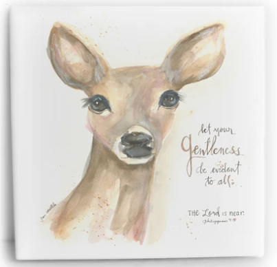 Doe | Let your gentleness be evident to all | 6x6 Tile