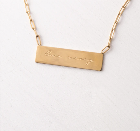 Love Mercy | Act Justly Necklace