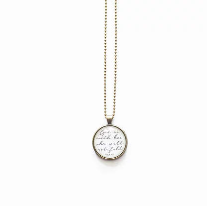 TVS Necklace | God is with her