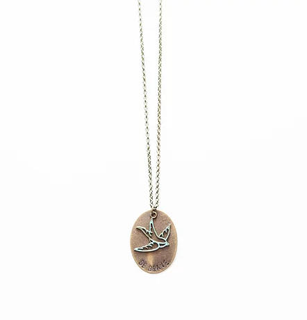 TVS Necklace | Brave Sparrow