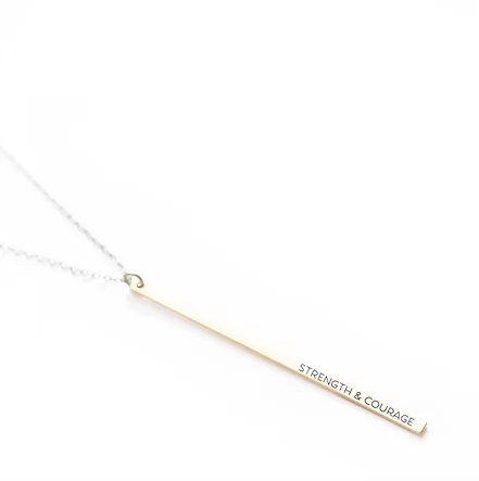 TVS Necklace | Strength and Courage