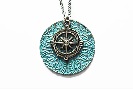 TVS Necklace | Compass