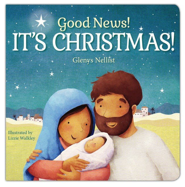 Good News! It's Christmas - Boardbook