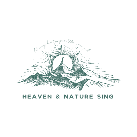 Heaven & Nature Sing | 8x8 canvas