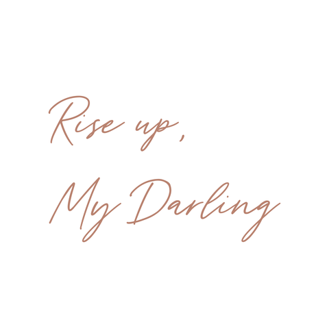 Rise up, My Darling | 8x8 canvas