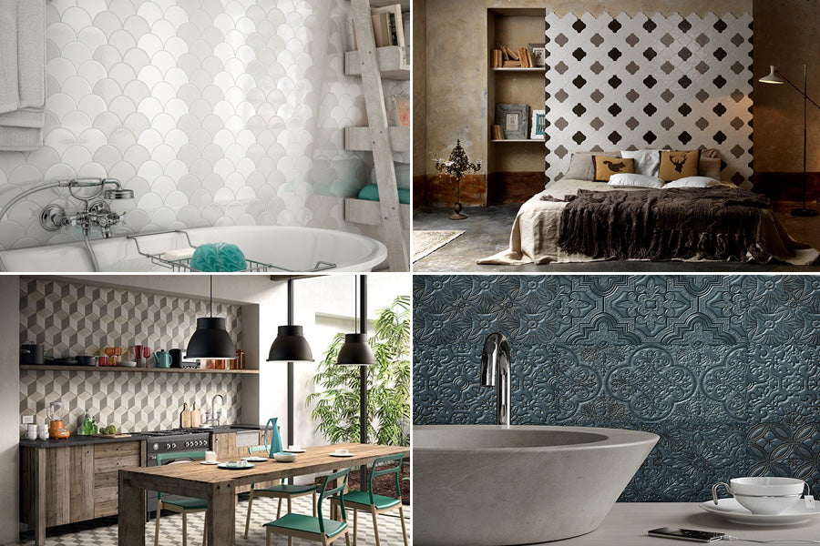 Feature Walls - 2016 Tile Trends