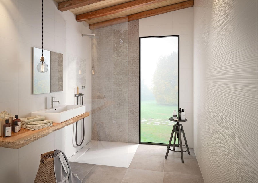 Bathroom Trends 2018 - Fluted Wall Tiles