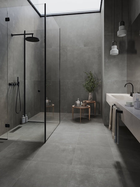 Grey Porcelain Floor and Wall Tiles