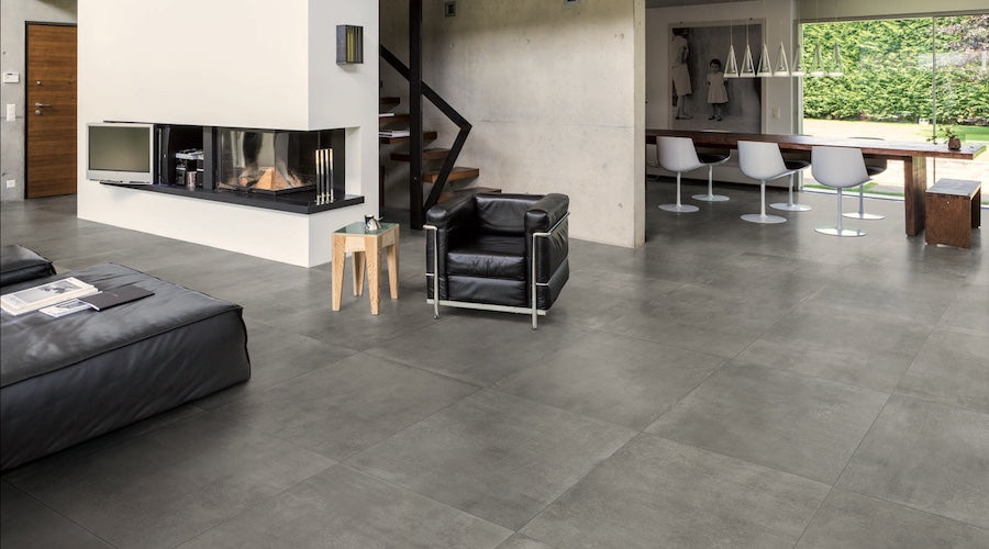 Urban Style With Grey Tiles