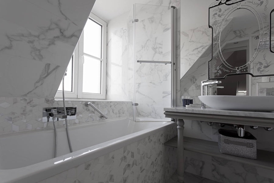 Marble Tiles For Small Bathroom