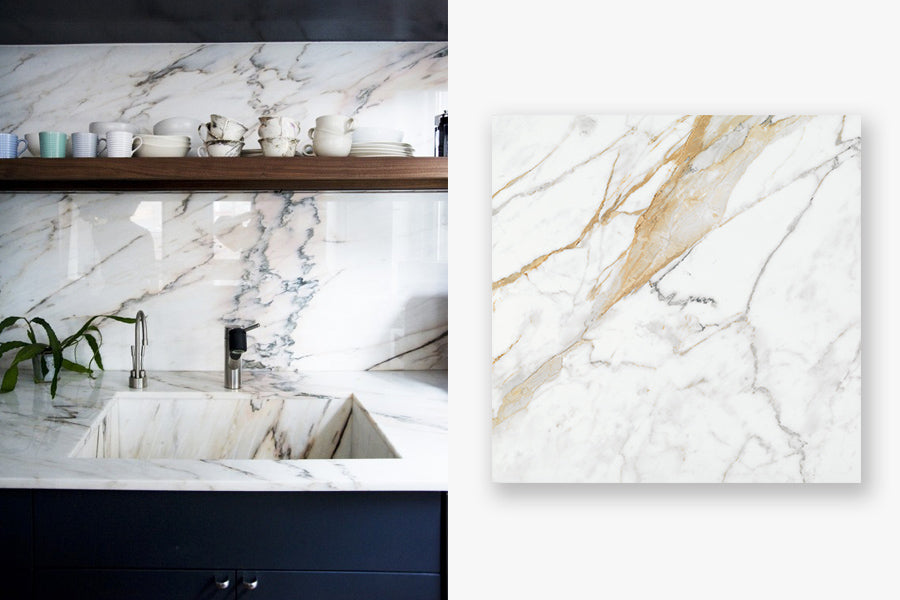 Using large format tiles on walls