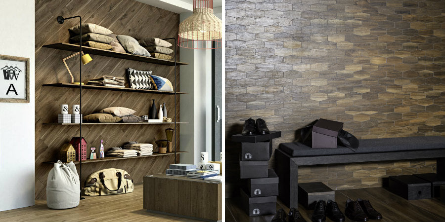 Wood Effect Tiles - Different Patterns