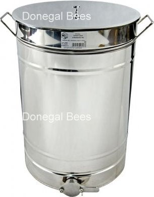 100L Stainless Steel Settling Tank with Valve