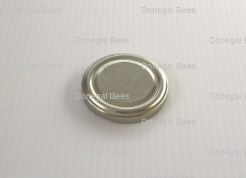63mm Gold Honey Jar Lids (50 or 100 pack)