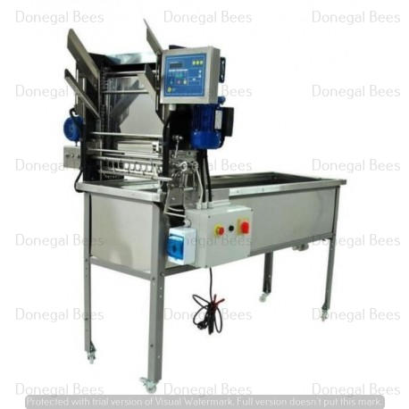 Uncapping Machine with Automatic Feeder 230V -Closed Circuit