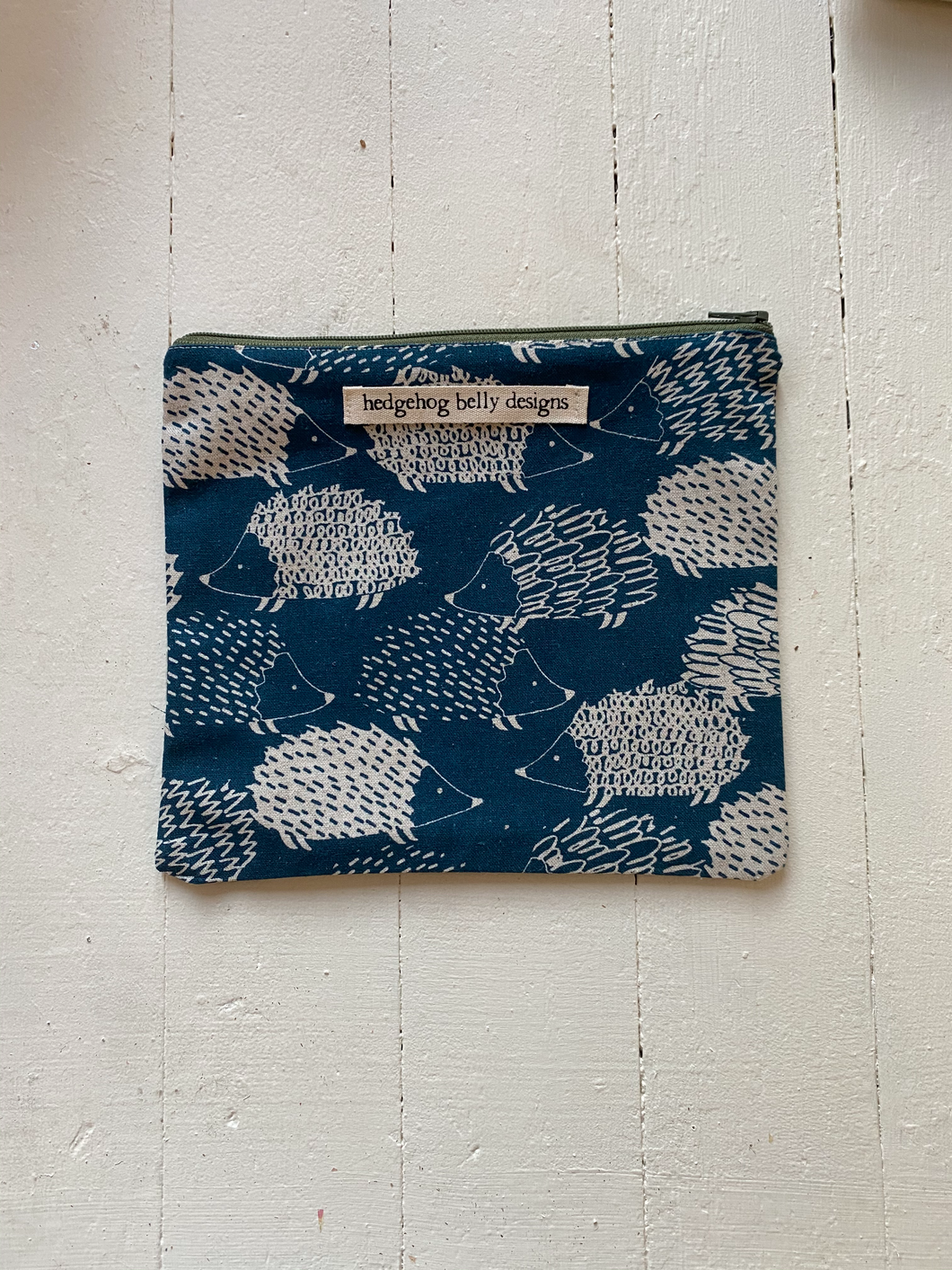 Printed Zipper Pouch