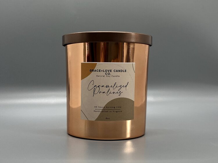 Caramelized Pralines - 8 oz. candle