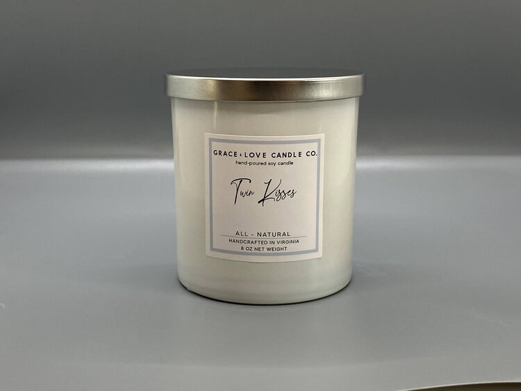 Twin Kisses - 8 oz. Candle