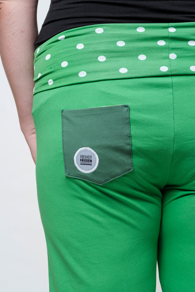 "Yogahose ""Green Amsterdam"" // Limited Edition"