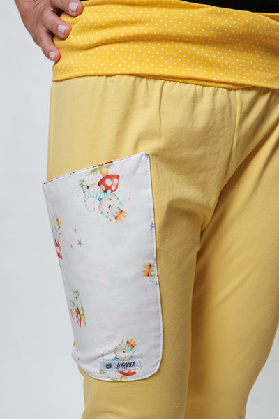 "Yogahose ""The Yellow Cat"" // Limited Edition"