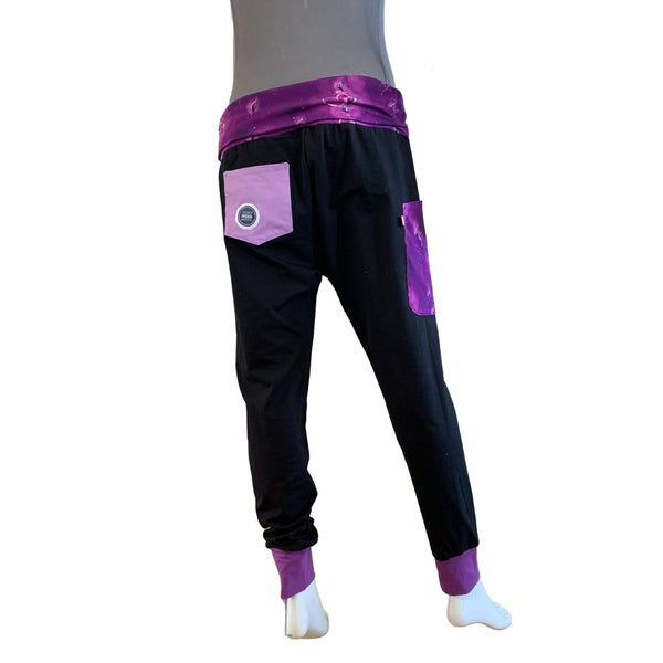 "Yogahose ""Purple Hearts"" // Einzelstück // Sold Out"