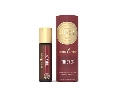 """Happiness"" Päckchen mit Freigeist-Hautcreme & Young Living Roll on ""Thieves"""