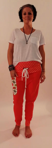 "Yogahose ""Funny Orange"" // Limited Edition"