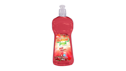 Bubble Fresh Red Apple