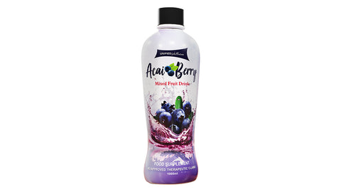 Acai Berry Fruit Health Drink