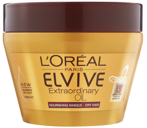 L'Oreal Elvive Extraordinary Oil Nourishing Masque Dry Hair Mask 300ml