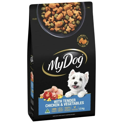 My Dog Roast Chicken Flavour Including Garden Vegetables Cheddar Cheese And Bacon Flavours Dry Dog Food
