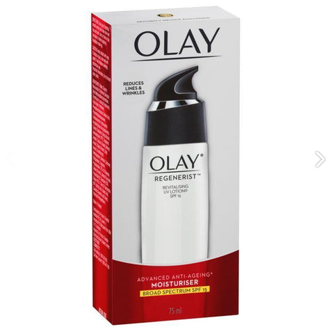 Olay Regenerist Revitalising Lotion 15+ 75mL